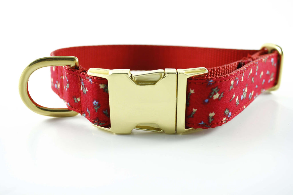 Poppy Red Flowers Collar