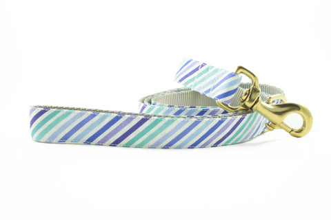 Purple and Blue Stripe Leash