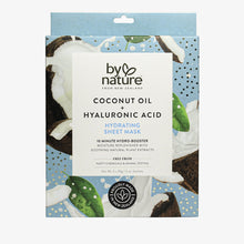 Hydrating Sheet Mask with Coconut Oil and Hyaluronic Acid