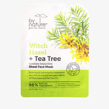 Witch Hazel + Tea Tree Sheet Face Mask