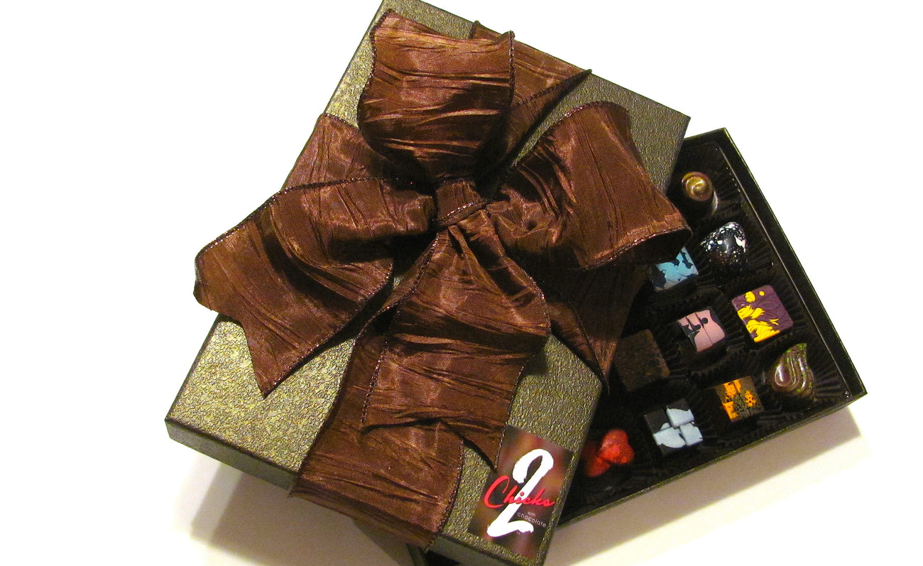 Gifts of hand- crafted  bonbons made with only the finest ingredients