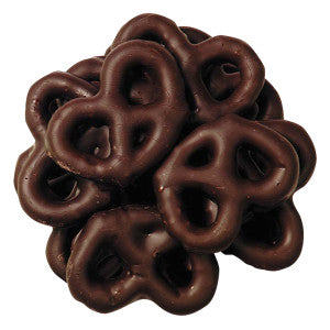 NUT FREE Holiday: Mini Dark Chocolate Covered Pretzels