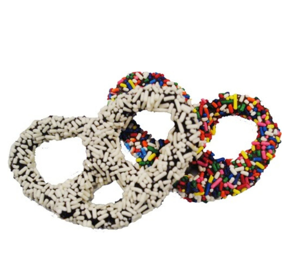 NUT FREE Holiday: Chocolate Covered Pretzels 2pk