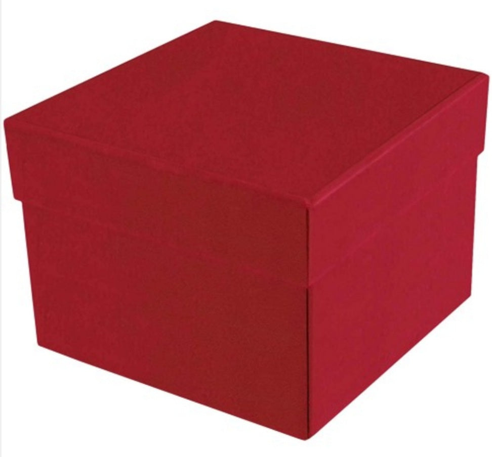 Create your own: 27 Chocolate Piece Red Cube Collection