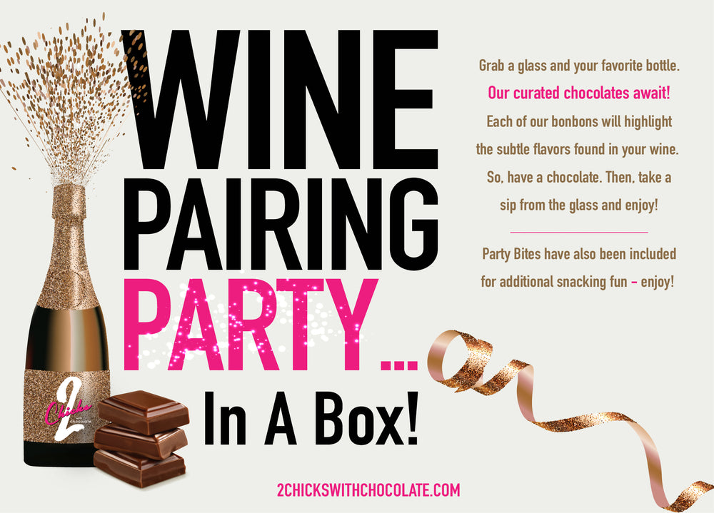 Wine Pairing Party...in a box