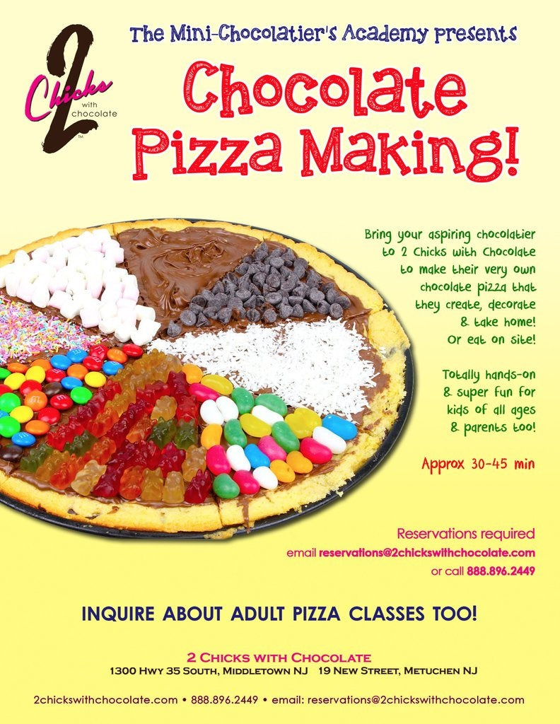 Chocolate Pizza Making Activity