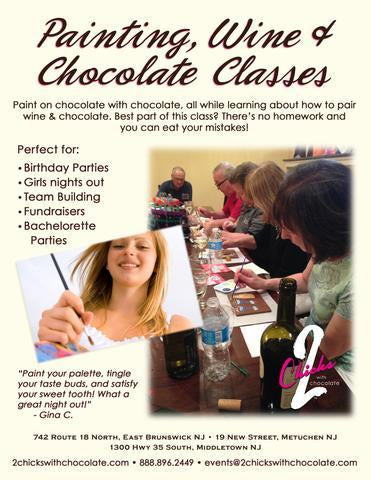 Painting, Wine & Chocolate Party