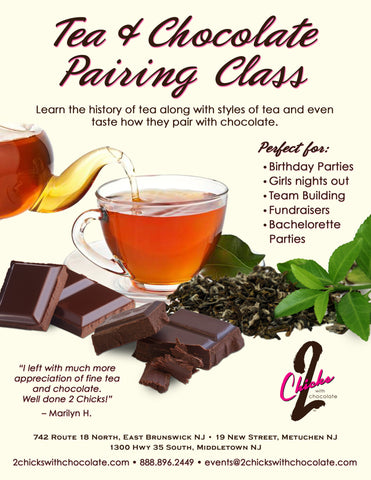 Tea & Chocolate Class