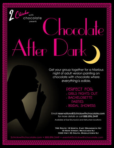 NEW!! Private Party Only: Chocolate After Dark Painting Event