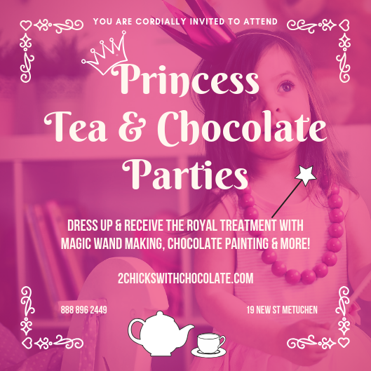Princess Tea and Chocolate Parties