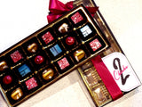 hand crafted artisan truffles 18 pieces gift box