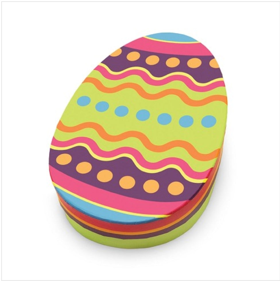 Create Your Own: Easter Colorful Egg Gift Box