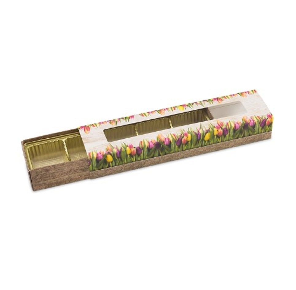 Create your own: Easter Tulip 5pc Slider Gift Box