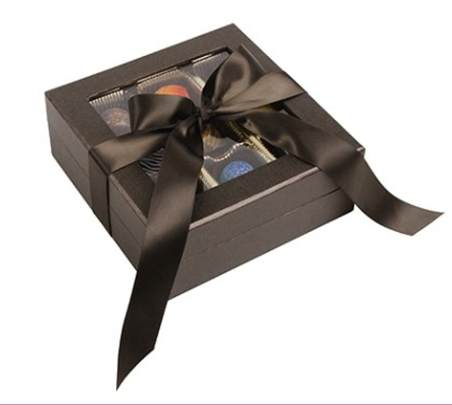 Ultra Glam Chocolate Truffle Box 9pc Create Your Own