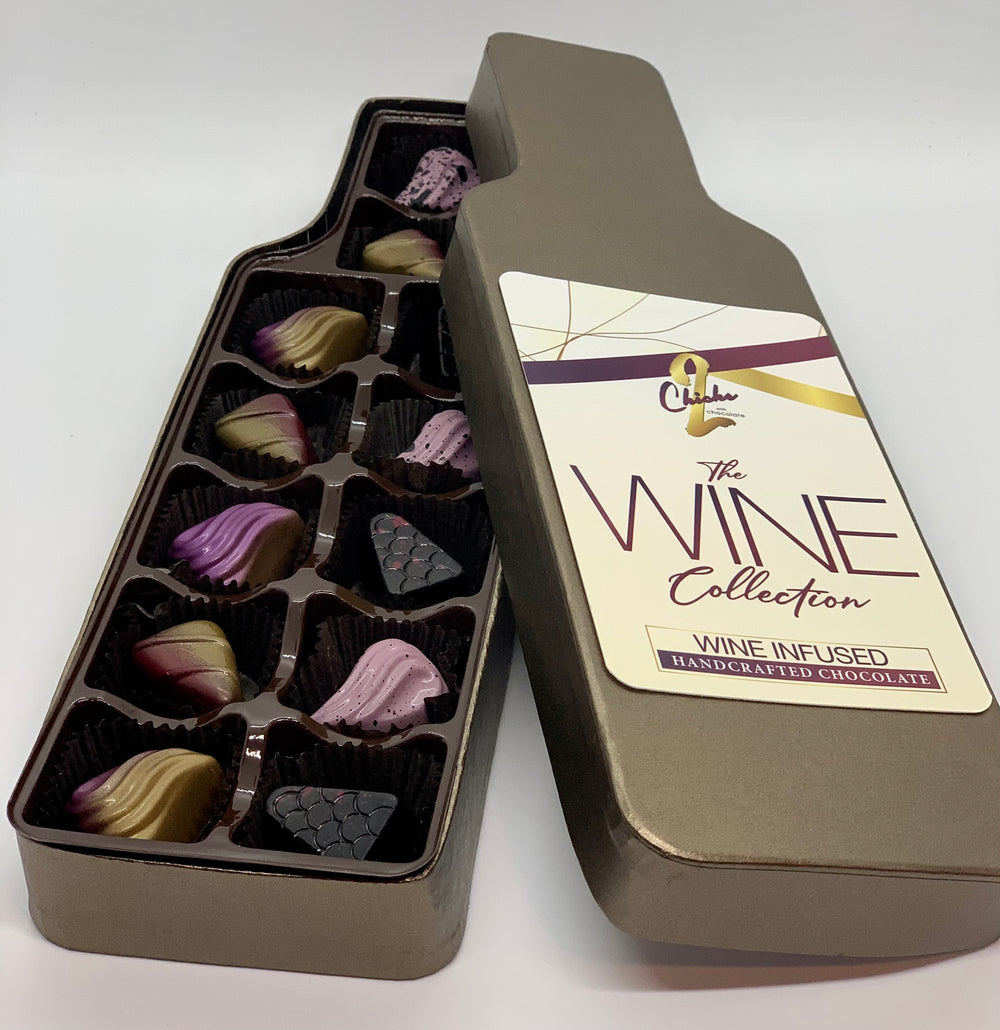 Wine Infused Chocolate Collection