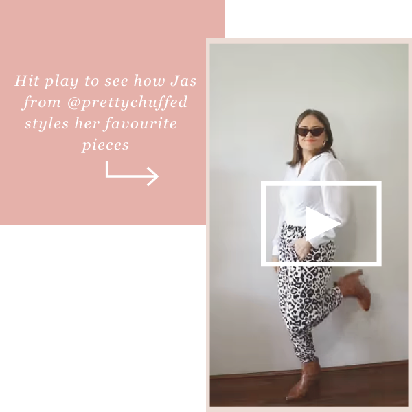 Hit play to see how Jas from @prettychuffed styles her favourite pieces