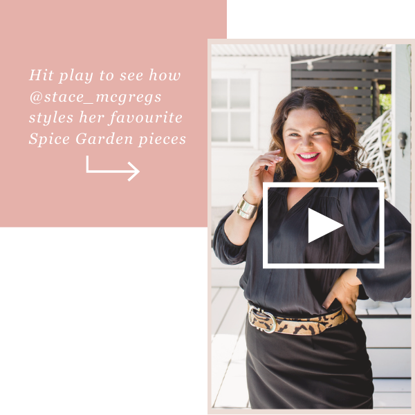 Watch Stacey try on her favourite Spice Garden pieces