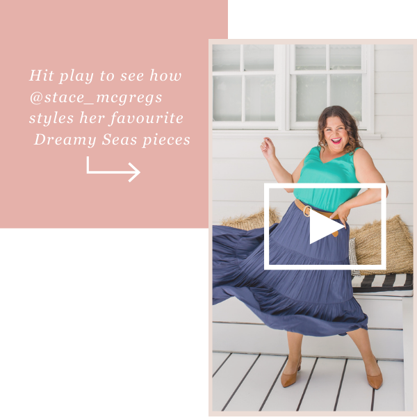 See How Stacey styles our Dreamy Seas Collection