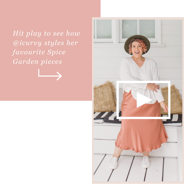 Watch Jo try on her favourite Spice Garden pieces