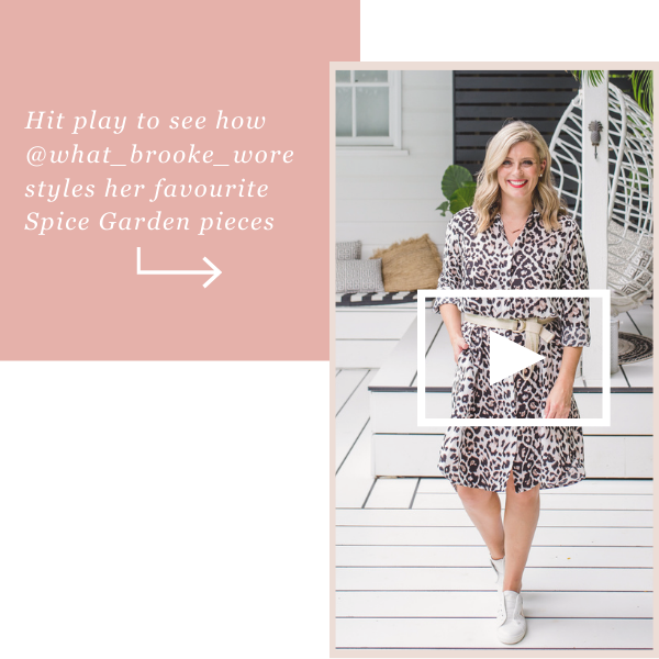 Watch Brooke try on her favourite Spice Garden pieces