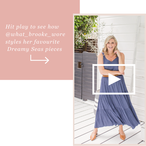 See how Brooke styles our Dreamy Seas Collection