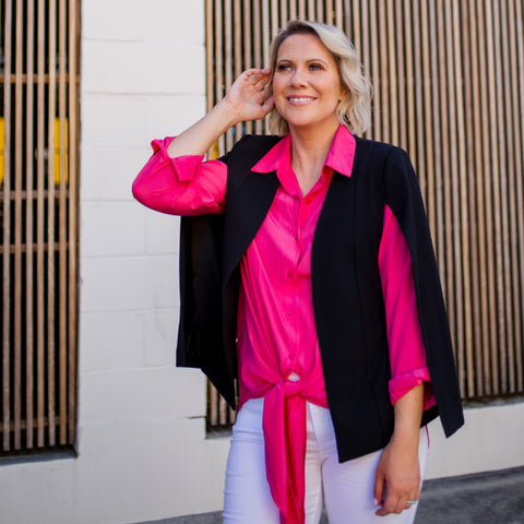 Styling You The Label - Kirsten Cape Black