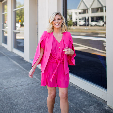 Styling You The Label - Kirsten Cape Paris Pink