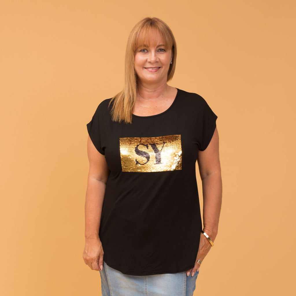 Styling You The Label - Nikki Sequin Tee