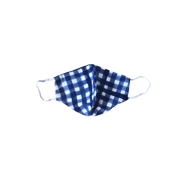 Face Mask - Gingham Print