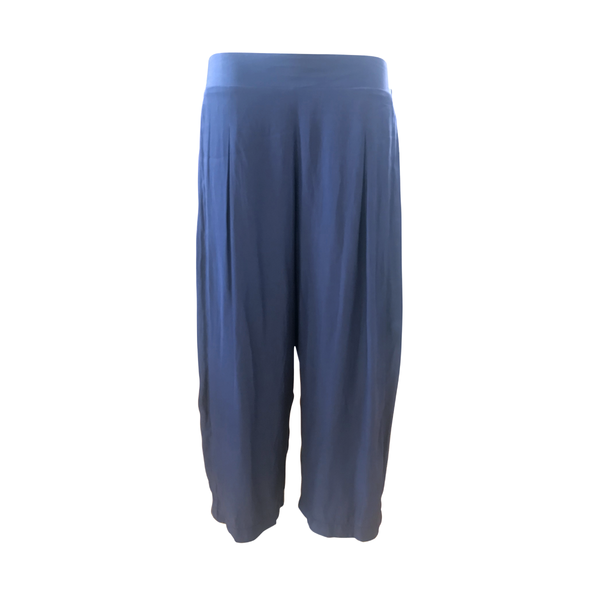 Maddy technical crop pants in steel blue