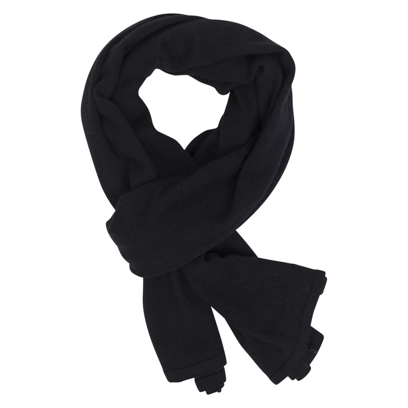 Styling You The Label Nicoll black cashmere wrap