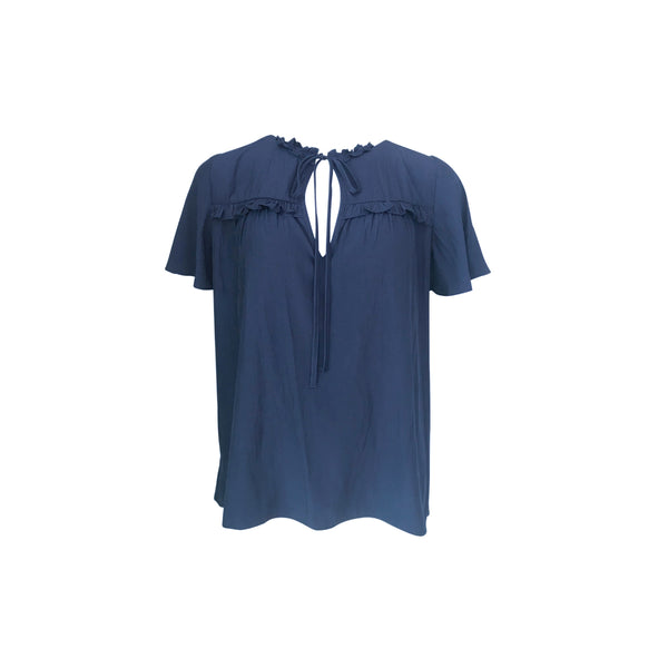 Our Kim technical blouse in navy