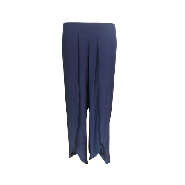 Our Maria technical split pants in navy