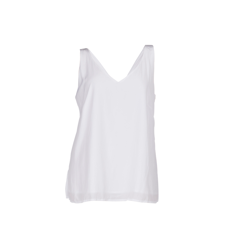 Rachael technical cami white