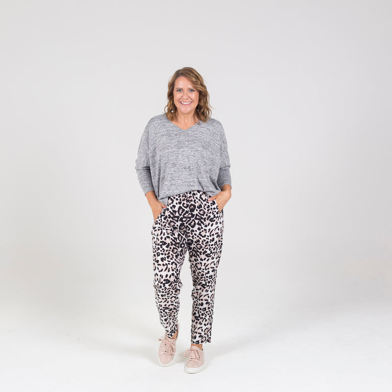 Styling You The Label Angela animal print pant