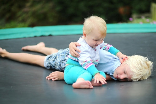 Some Non-Bounce Ways to Enjoy Your Trampoline