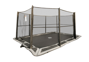 10x14' Capital Play Rectangular In-Ground Enclosure Net