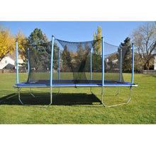 Load image into Gallery viewer, 6x12 Rectangle Trampoline 9x15 Frame with Enclosure