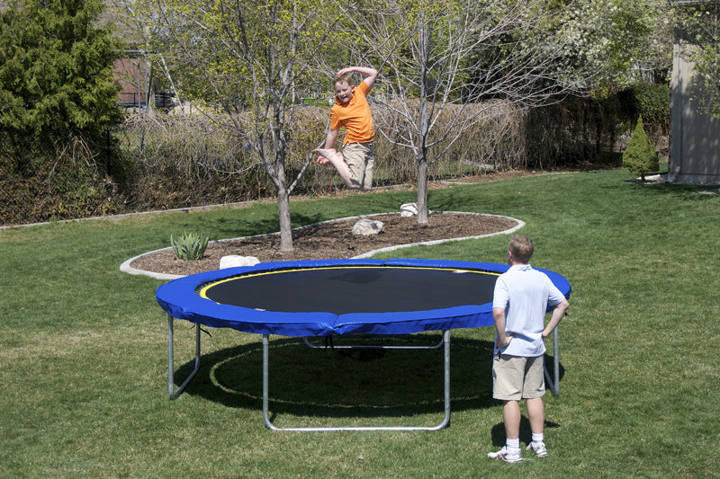 14' Round Medalist Trampoline & Enclosure Package