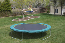 Load image into Gallery viewer, 14 Round Medalist Trampoline & Usa Enclosure Package