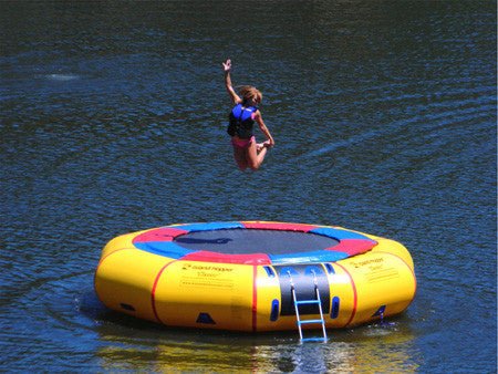 Make a Splash With Water Trampolines