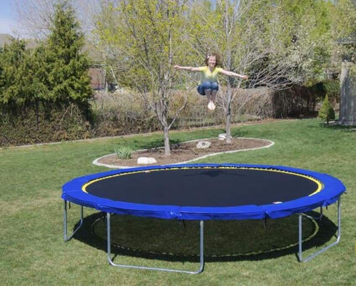 16 Ft Round Medalist Trampoline & Enclosure Package