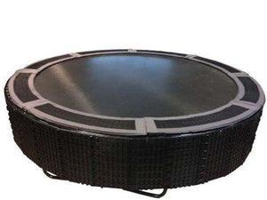 TDU In-Ground Trampoline Retaining Wall & Vented Pad Combo