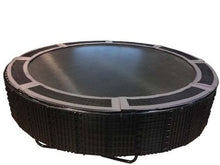 Load image into Gallery viewer, 16' Round Medalist Trampoline with TDU Vented Pad & Retaining Wall Bundle
