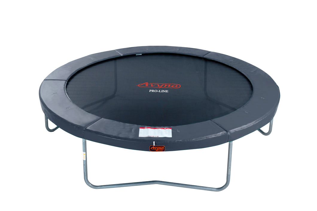 14' Round Pro-Line Avyna Above Ground Trampoline - Optional Enclosure