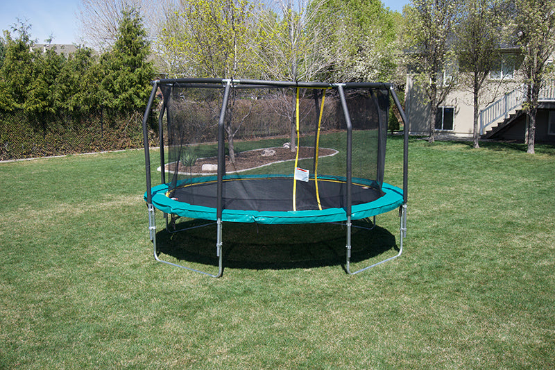 14' Round Medalist Trampoline & USA Enclosure Package