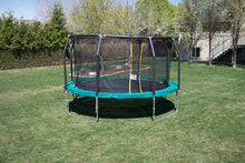 Load image into Gallery viewer, 14' Round Medalist Trampoline & USA Enclosure Package
