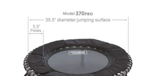 Load image into Gallery viewer, JumpSport Model 370 PRO Fitness Trampoline