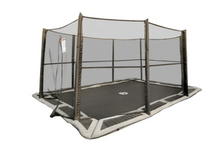 Load image into Gallery viewer, 10x14' Rectangle TDU/Capital Play In-ground Trampoline