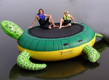 Load image into Gallery viewer, Island Hopper Water Trampoline | Island Hopper 15' Turtle Jump Water Trampoline